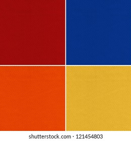Red, Blue, Orange and Yellow Sport Jersey Mesh Textile