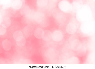 Red bokeh background from nature, red bokeh abstract