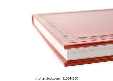 Red book cover macro