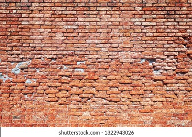 red brick background. red brick old brick wall
