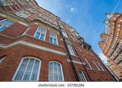 Red Brick Buildings in London