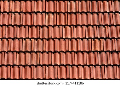 Brick Roof Texture red brick colour roof tiles texture stock photo (edit now