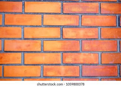 red brick, masonry. brick wall. construction
