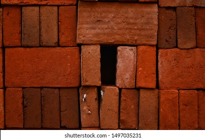 Red brick was missing from its structure