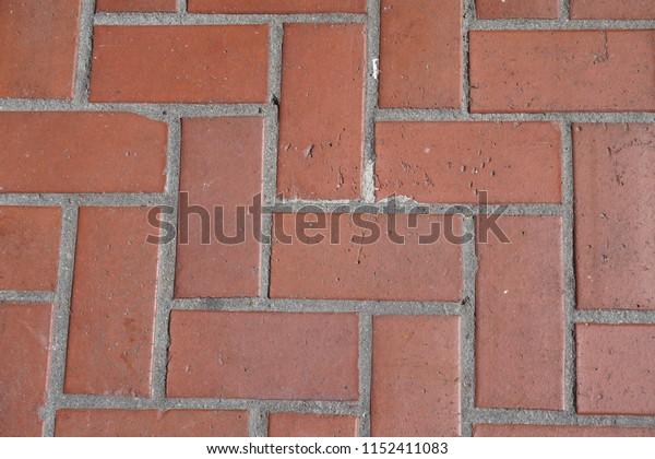 red brick pattern