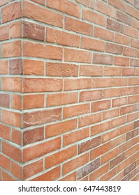Red brick stone wall texture,Corner of the building ,wallpaper,background,texture
