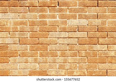 Red Brick Wall Background with Plenty of Copy Space