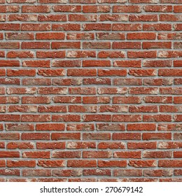 red brick wall high resolution seamless texture