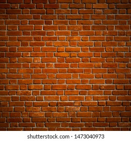 Red Brick Wall, Stone, Background