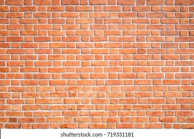red brick wall texture for background or seamless texture