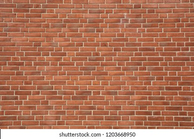 Red brick wall texture with excellent light grey pointing