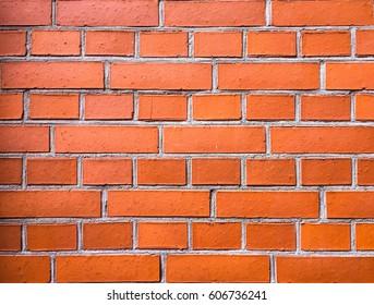 Red Brick Wall.Brick Wall Background.