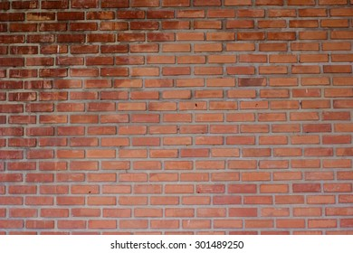 red bricks block cement background texture for design and decorate