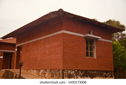 A red bricks traditional building unique photo