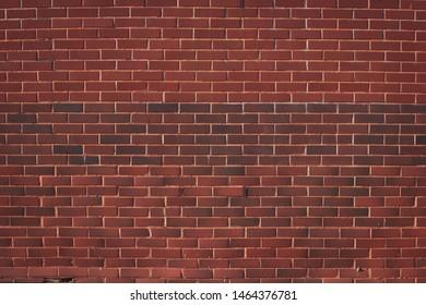 Red Bricks Wall  Texture Background