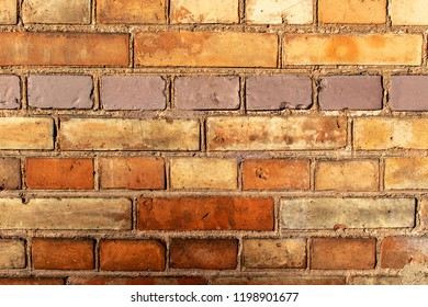 Red Brickwall in romantic light