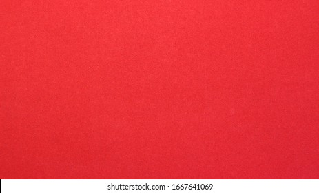 red bright paper background with smooth smooth texture