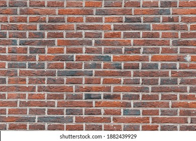 Red brown brick background, Abstract geometric pattern texture, Old outdoor building brick block wall, Can be used as background for display or montage your products.