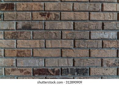 Red & Brown Brick Wall