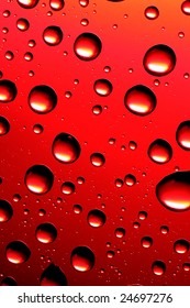 Red bubbles, may be used as background