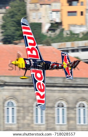 Red Bull Air Race 2017 Porto Stock Photo Edit Now 718028557