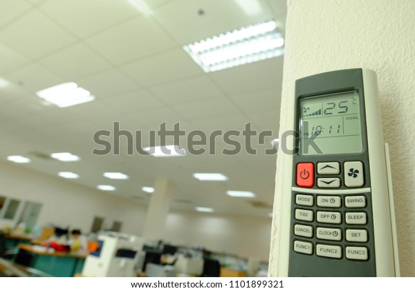 Red button Air conditional Remote control and 25 degree Celsius is best for save energy,Save Energy,Save World,Save money