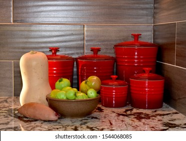 Kitchen Canisters Images, Stock Photos & Vectors | Shutterstock