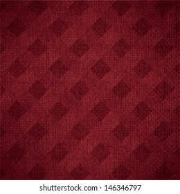 red canvas background or maroon woven linen texture