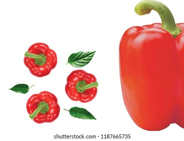 red capsicums wallpaper
