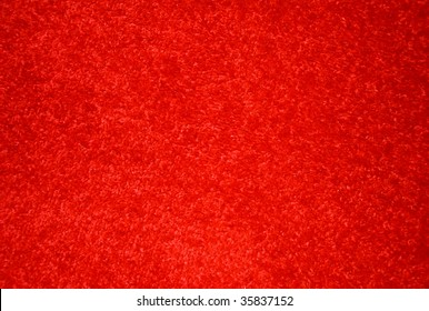Red carpet on the floor.