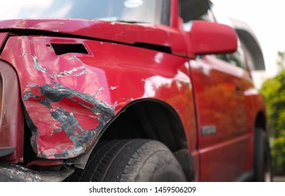 Red cars caused minor accidents from collisions with other cars.  While waiting for repairs at the garage