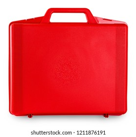red case on white background