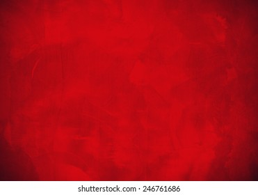 red cement wall texture for Christmas or valentine, red abstract background.