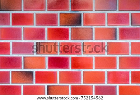 Red Ceramic Floor Tiles Closeup Texture Stock Photo Edit Now