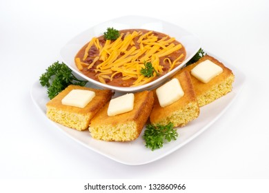 Red Chili and Cornbread Meal