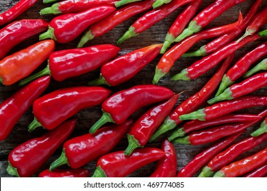 Red chillies background