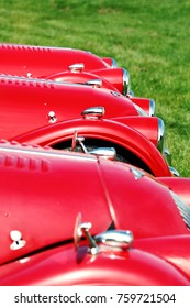 red classic cars