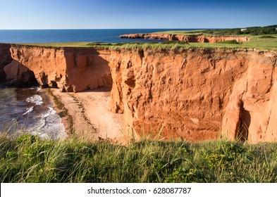 Red Cliffs on Iles de la Madeleine