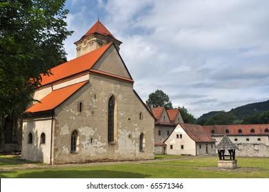 Red Cloister (slovak: Cerveny klastor) ancient monastery, located in Spis next to Dunajec river in Pieniny, Slovakia