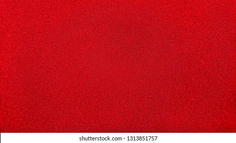 Red cloth surface texture.