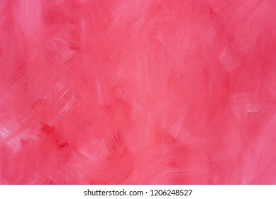 red color art painted background texture