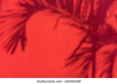 red concrete wall, light and shadow natural, abstract, background