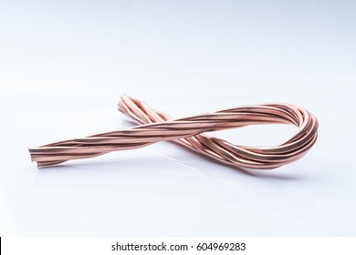 Red copper wire industry development.