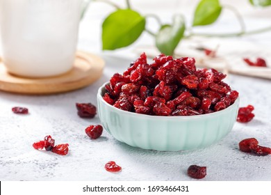 Red Cranberry dried in container