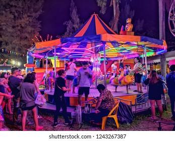 Red Cross Fair, Lumphini Park, Rama IV Rd (Witthayu Rd, Ratchadamri Rd, Sarasin Rd) Pathum Wan, Bangkok, thailand, November 2018