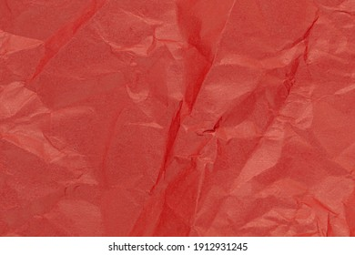 red crumpled paper, texture, festive background love