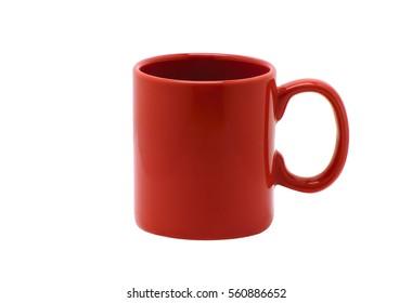 Red cup mug tea coffee favorite personal best glaze gift everyday hot coffee break relax
