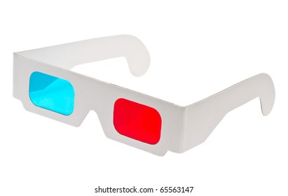 red cyan glasses
