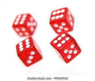 Red dice winning combination