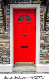 Red door, Dingle, Ireland